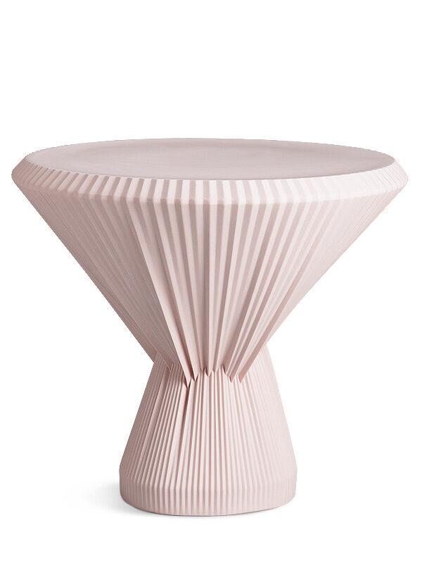 plisago różowy porcelanowy stolik kawowy 42 cm